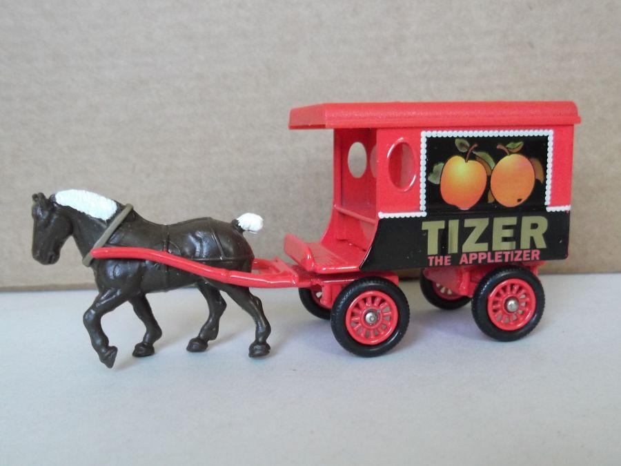 DG03020, Horse Drawn Delivery Van, Tizer