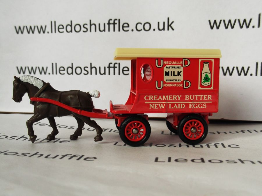 DG03021, Horse Drawn Delivery Van, United Dairies