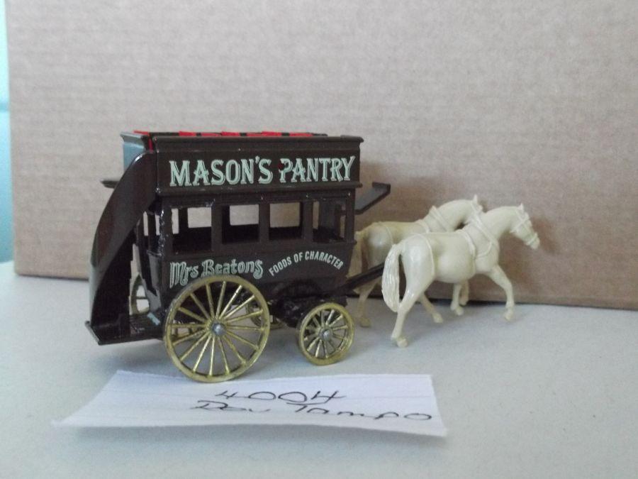 DG04004, Horse Drawn Omnibus, Mason's Pantry
