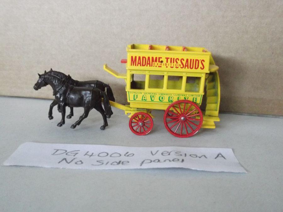 DG04006 Variation, Horse Drawn Omnibus, Madame Tussaud's Exhibition, Painted Horse