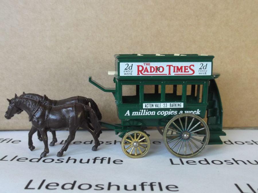 DG04010b, Horse Drawn Omnibus, Thomas Tilling, Radio Times