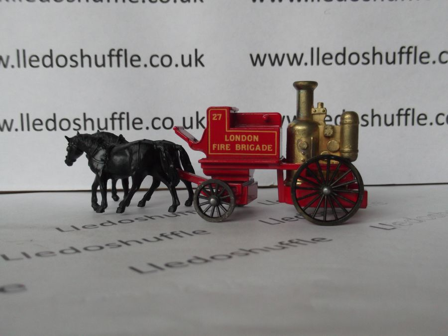 DG05000a, Shand Mason Horse Drawn Fire Engine, London Fire Brigade