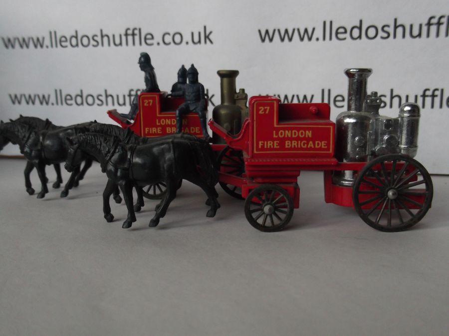 DG05000a, Shand Mason Horse Drawn Fire Engine, London Fire Brigade