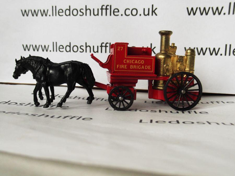 DG05001a, Shand Mason Horse Drawn Fire Engine, Chicago Fire Brigade