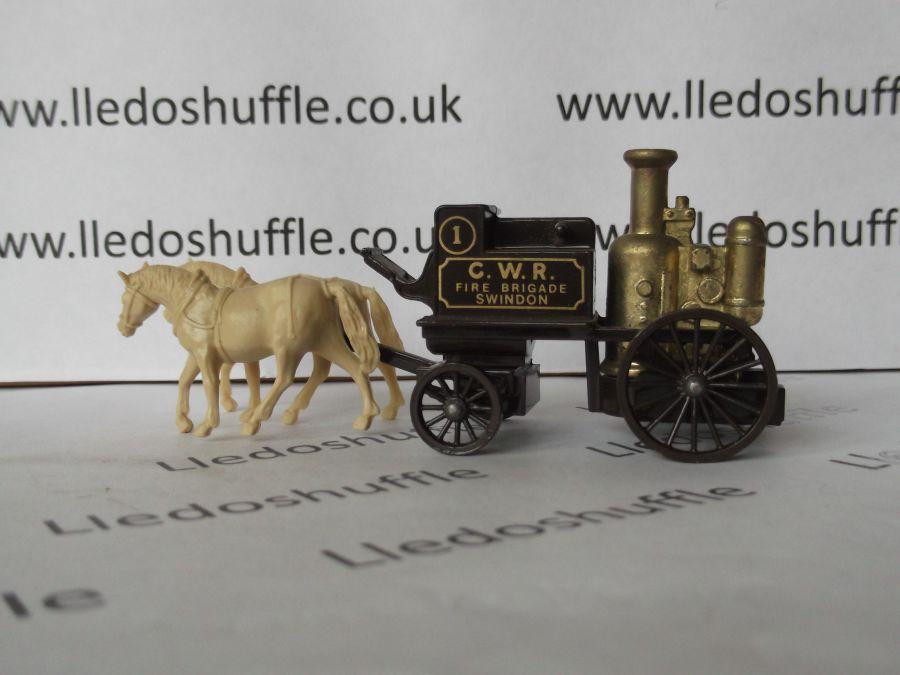 DG05004a, Shand Mason Horse Drawn Fire Engine, GWR Fire Brigade, Swindon