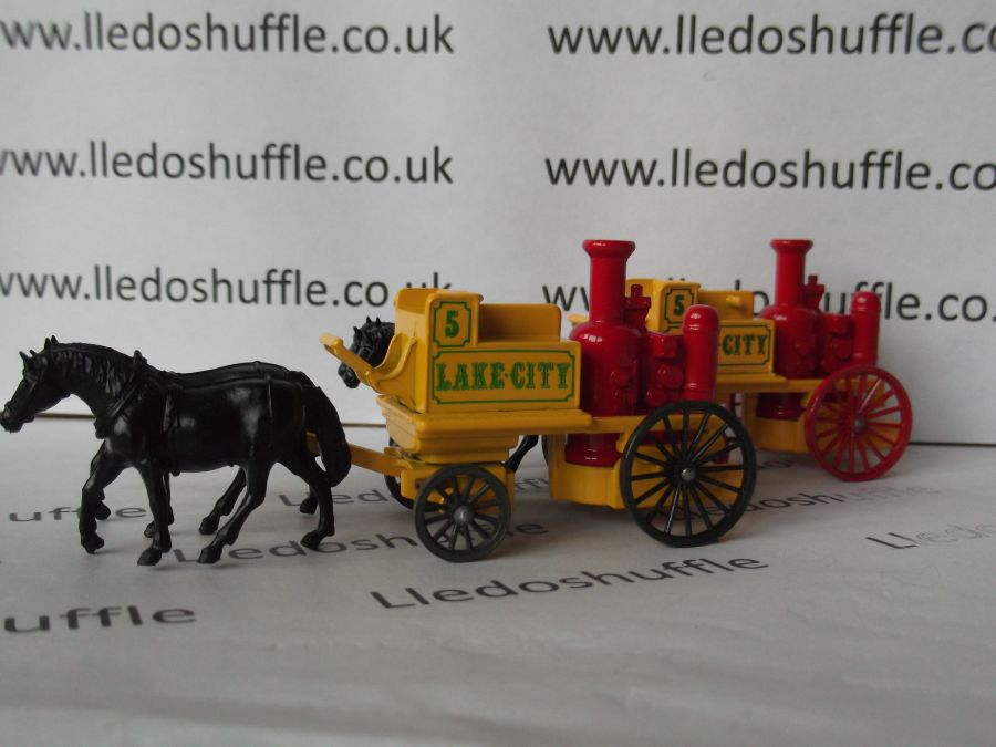 DG05005a, Shand Mason Horse Drawn Fire Engine, Lake City