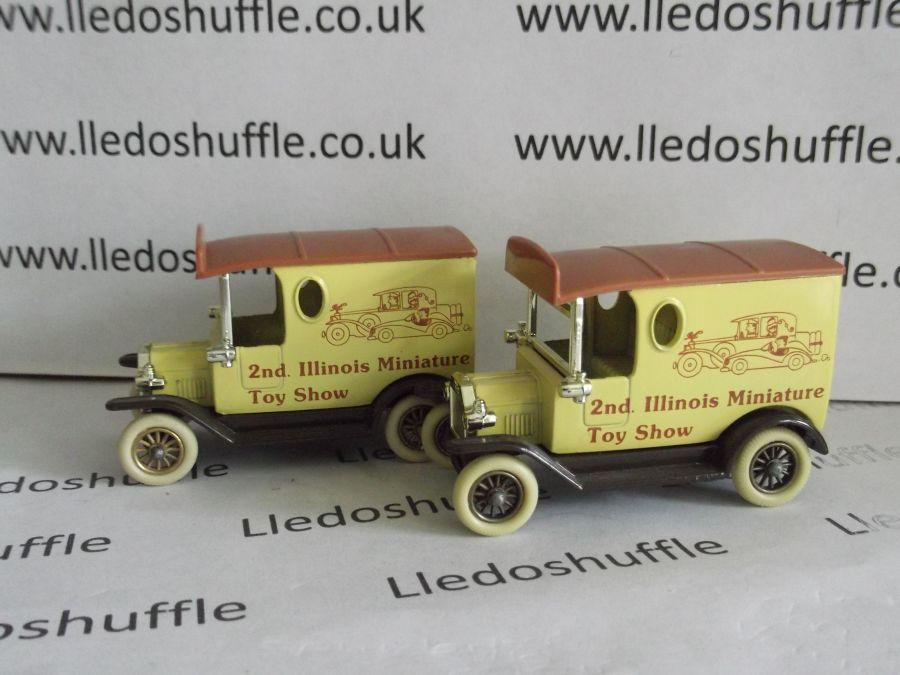 DG06010, Model T Ford Van, 2nd Illinois Miniature Toy Fair, Darker Colour, ABA
