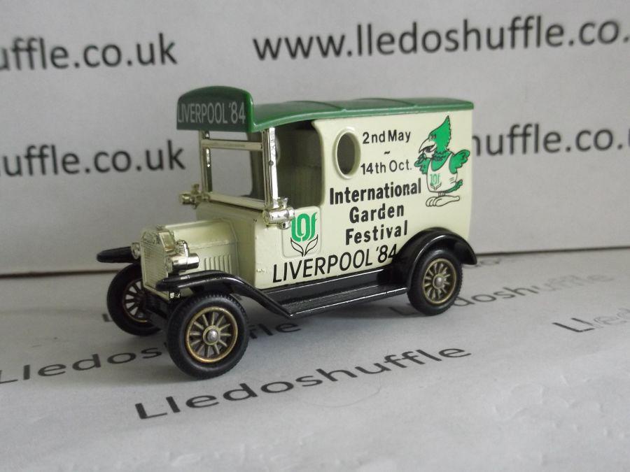 DG06009, Model T Ford Van, International Garden Festival, Liverpool '84