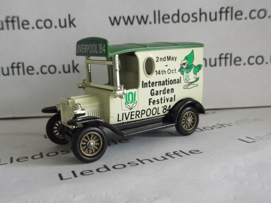 DG06009, Model T Ford Van, International Garden Festival, Liverpool '84, ABA