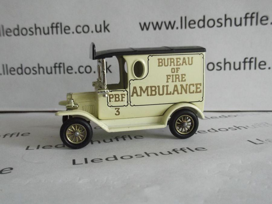 DG06027, Model T Ford Van, Philadelphia Bureau of Fire Ambulance, ABA