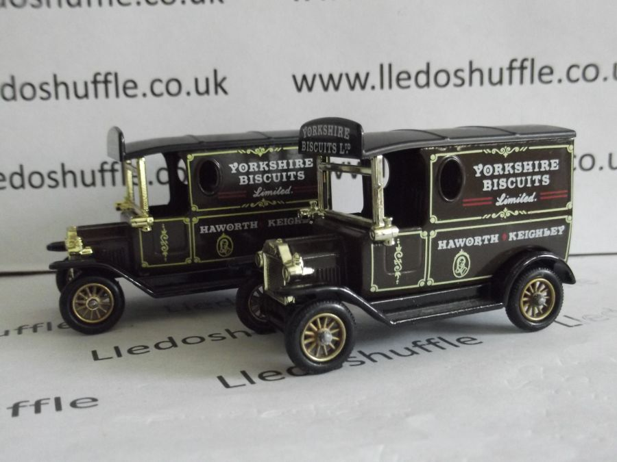 DG06029, Model T Ford Van, Yorkshire Biscuits, ABA
