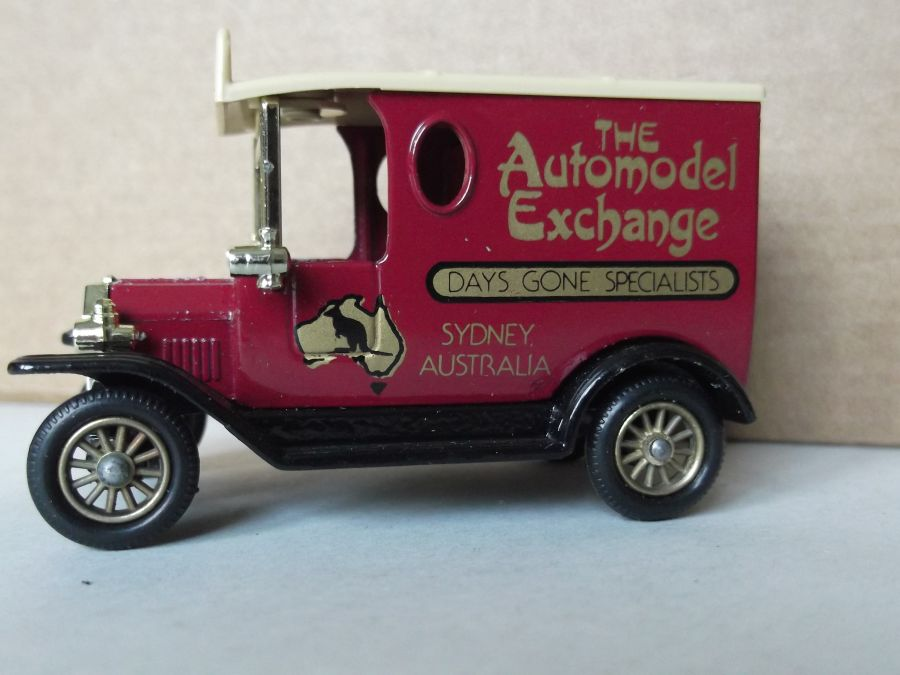 DG06030, Model T Ford Van, The Automodel Exchange