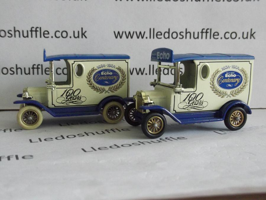 DG06031v, Model T Ford Van, South Wales Echo Centenary, Cream Tyres, ABA