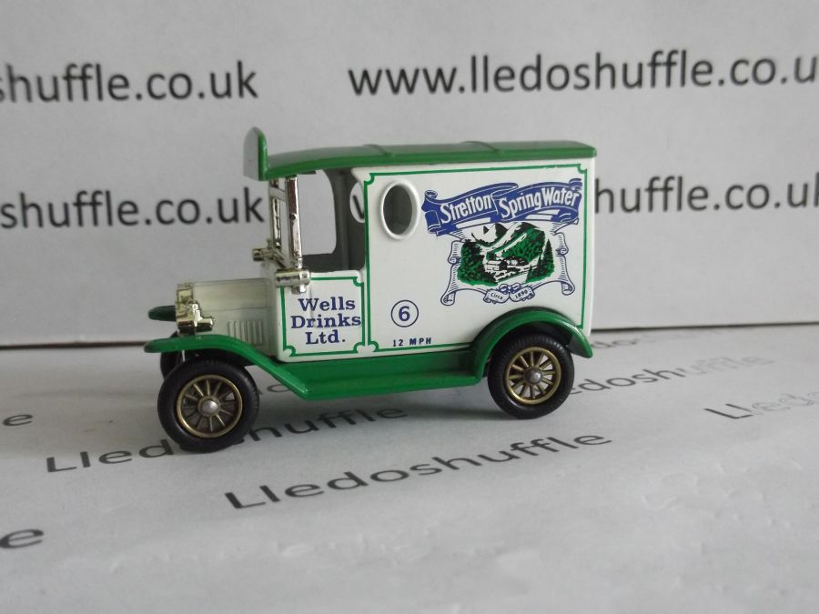 DG06032, Model T Ford Van, Stretton Spring Water