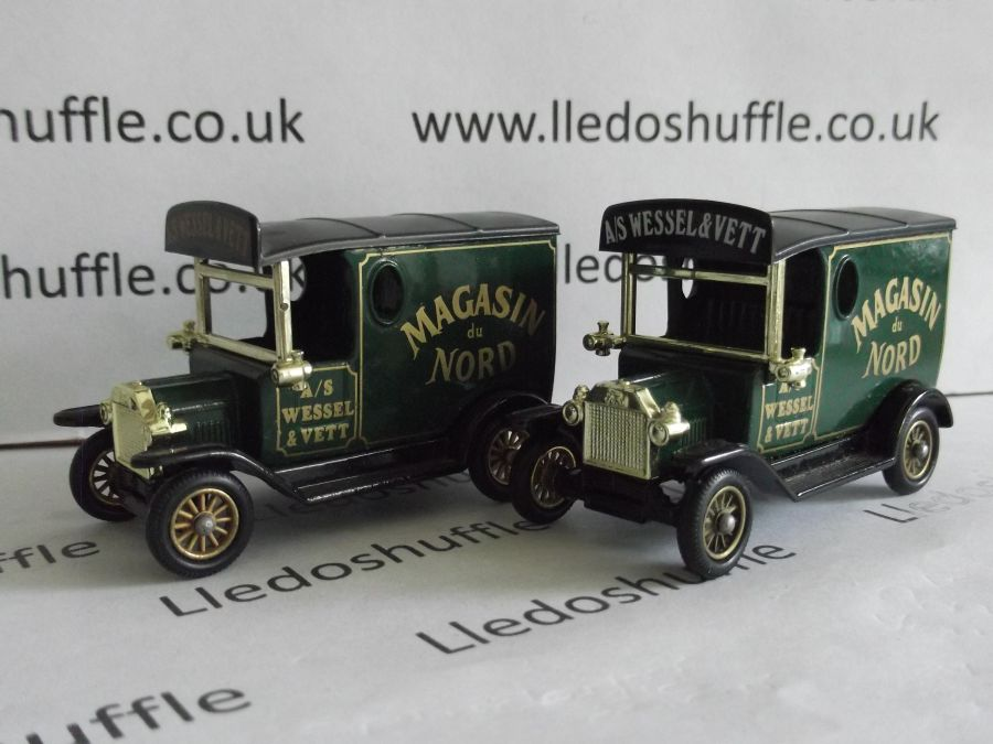 DG06034, Model T Ford Van, Magasin du Nord