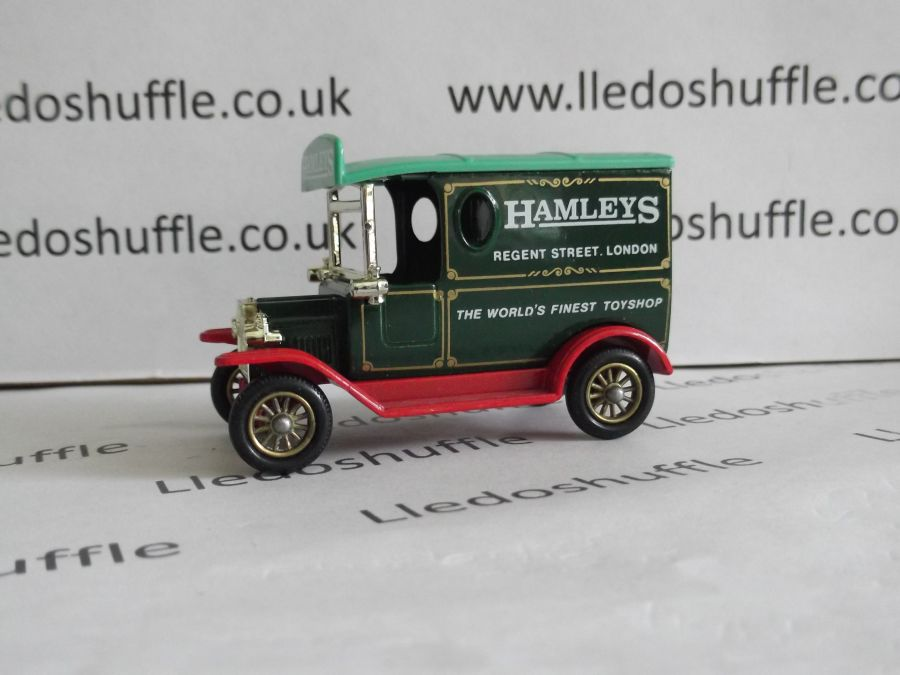 DG06035, Model T Ford Van, Hamleys Toyshop, ABA