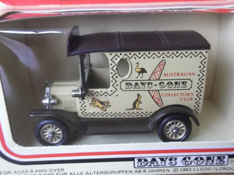 DG06036b, Model T Ford Van, Australian Collectors Club