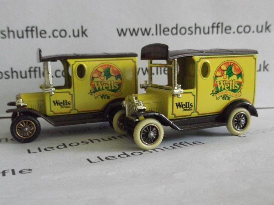DG06038, Model T Ford Van, Wells Drinks, Certificated Model, ACA