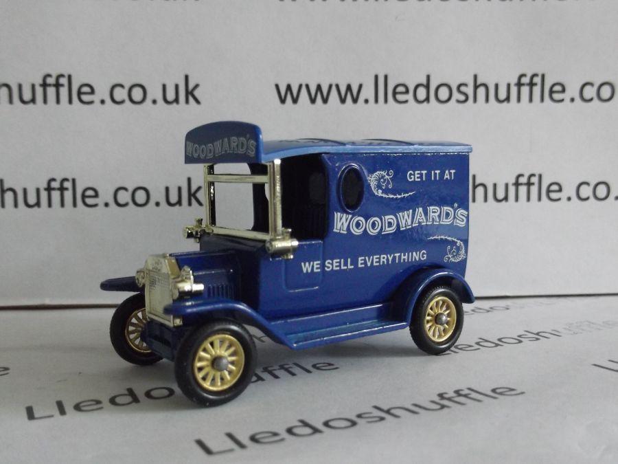 DG06039, Model T Ford Van, Woodwards, Printed Headboard, ACA