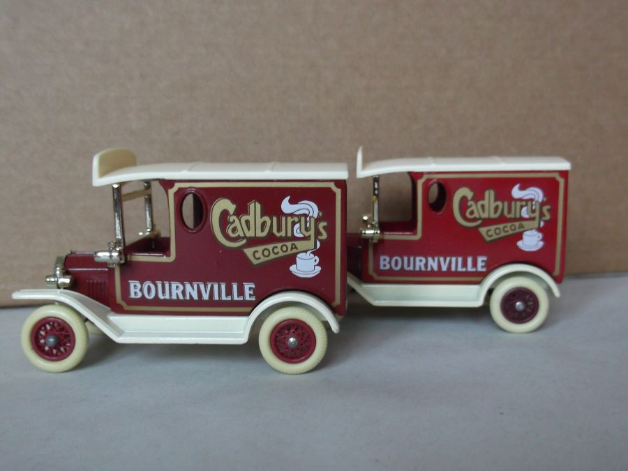 DG06046, Model T Ford Van, Cadbury's Cocoa Bournville, Lighter Colour, ACA