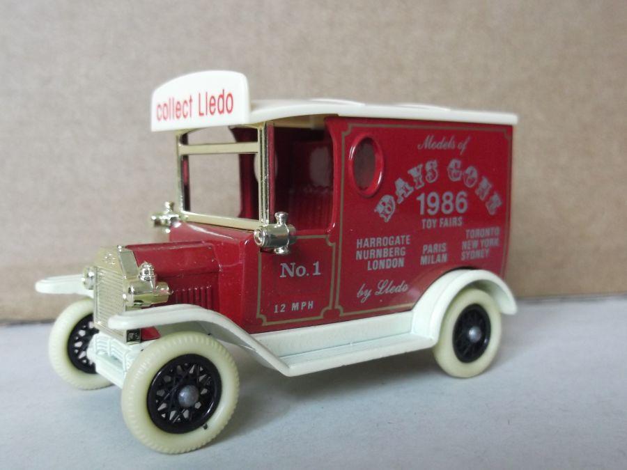 DG06050a, Model T Ford Van, Toy Fair 1986 Model, ACA