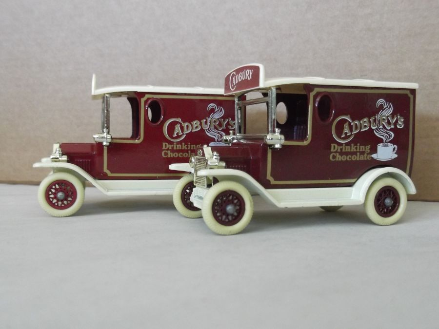 DG06051, Model T Ford Van, Cadbury's Drinking Chocolate, BEA