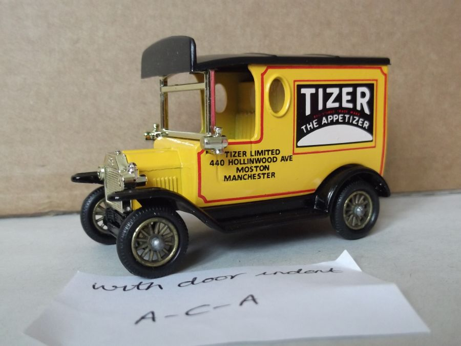 DG06053, Model T Ford Van, Tizer, ACA