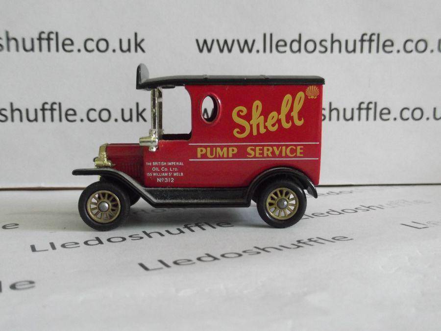 DG06072, Model T Ford Van, Shell Pump Service, BFB