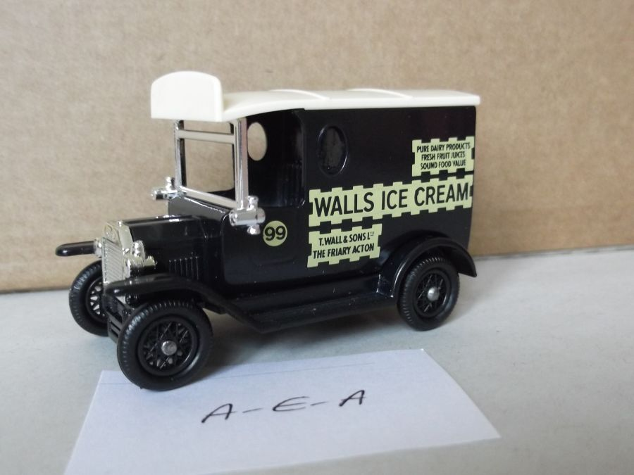 DG06073, Model T Ford Van, Walls Ice Cream, AEA
