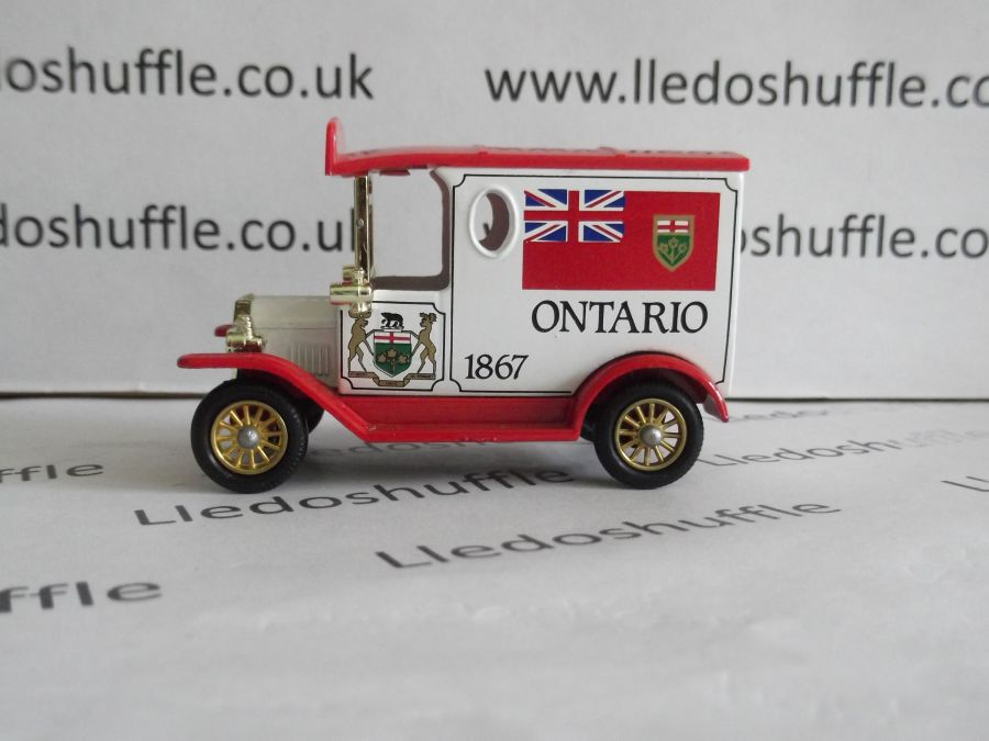 DG06074, Model T Ford Van, Ontario 1867, AEA