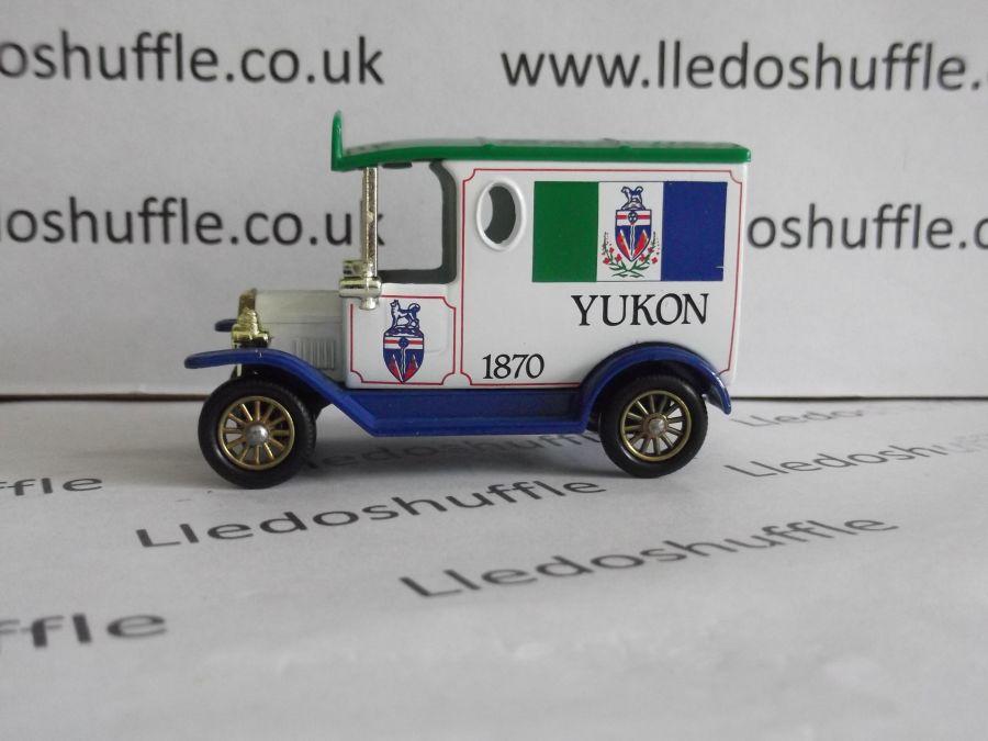 DG06075, Model T Ford Van, Yukon 1870, AEA