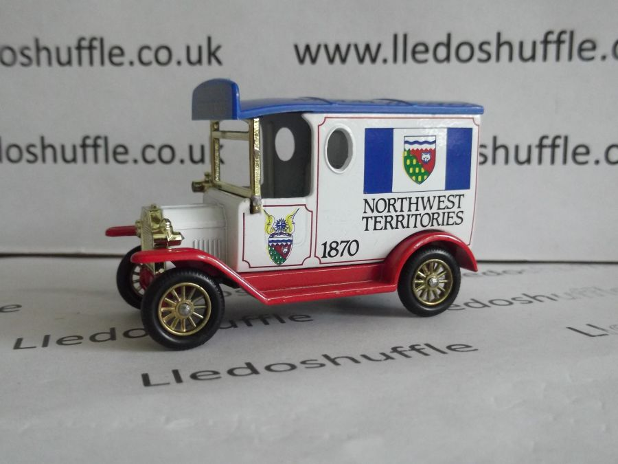 DG06076, Model T Ford Van, North West Territories 1870, AEA
