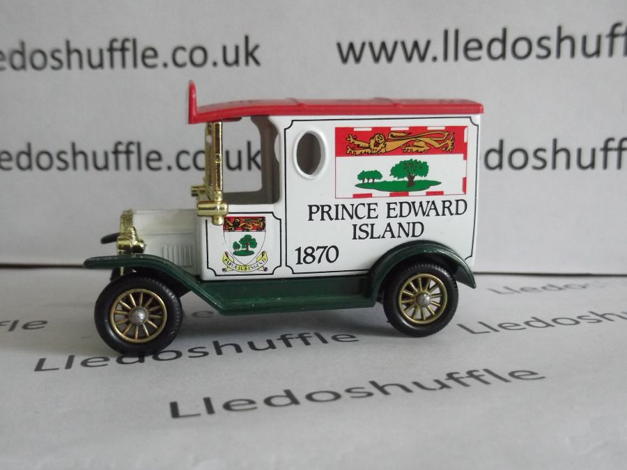 DG06077, Model T Ford Van, Prince Edward Isle 1870 (version a)