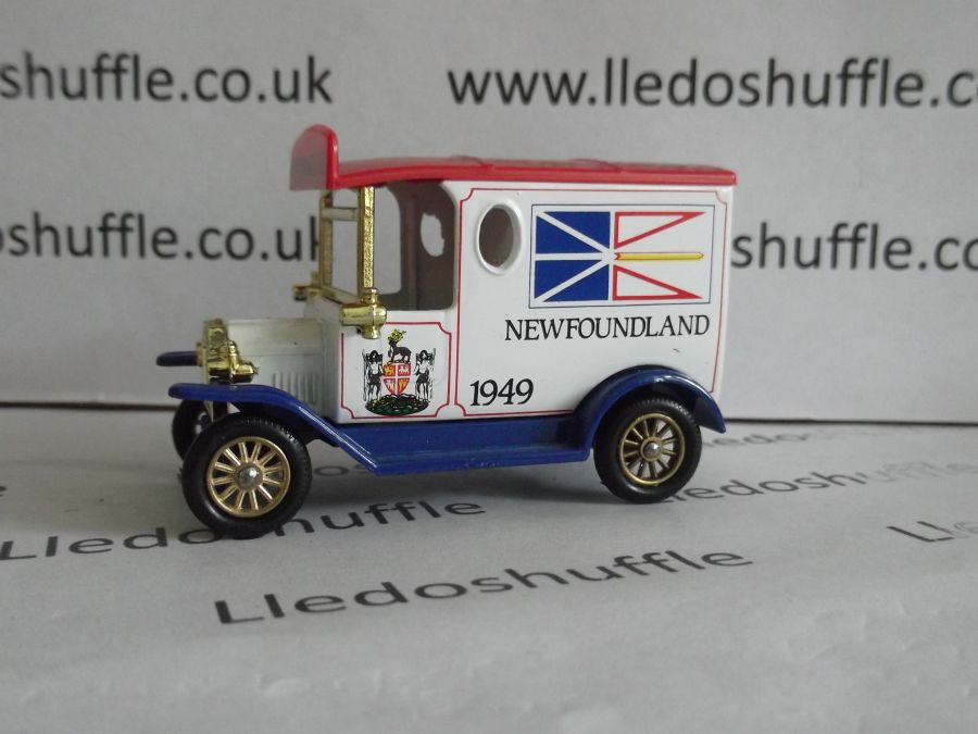 DG06078, Model T Ford Van, Newfoundland