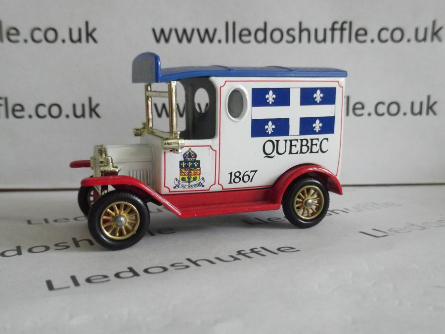 DG06079, Model T Ford Van, Quebec