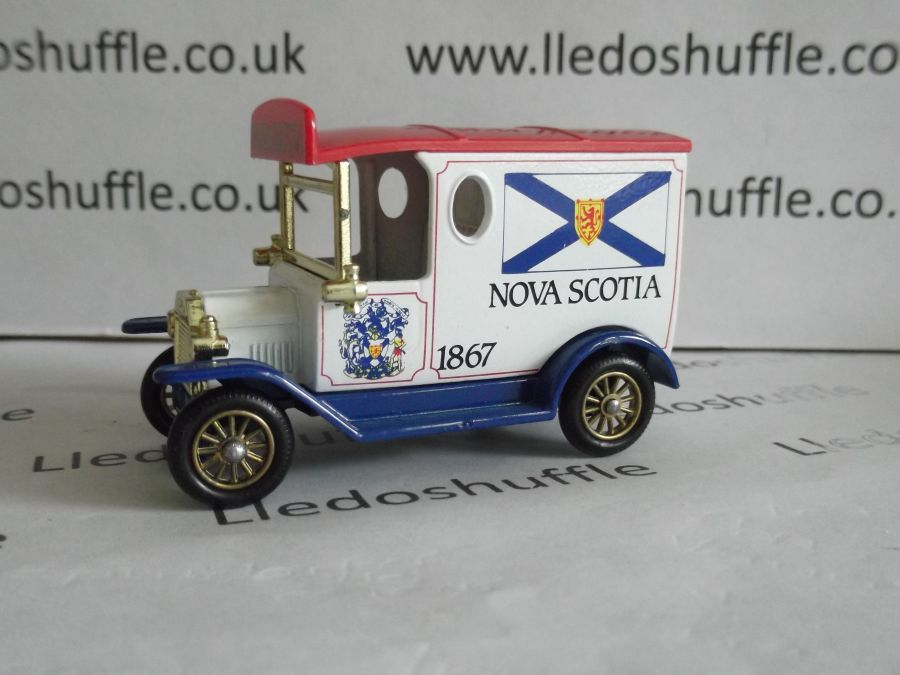 DG06080, Model T Ford Van, Nova Scotia
