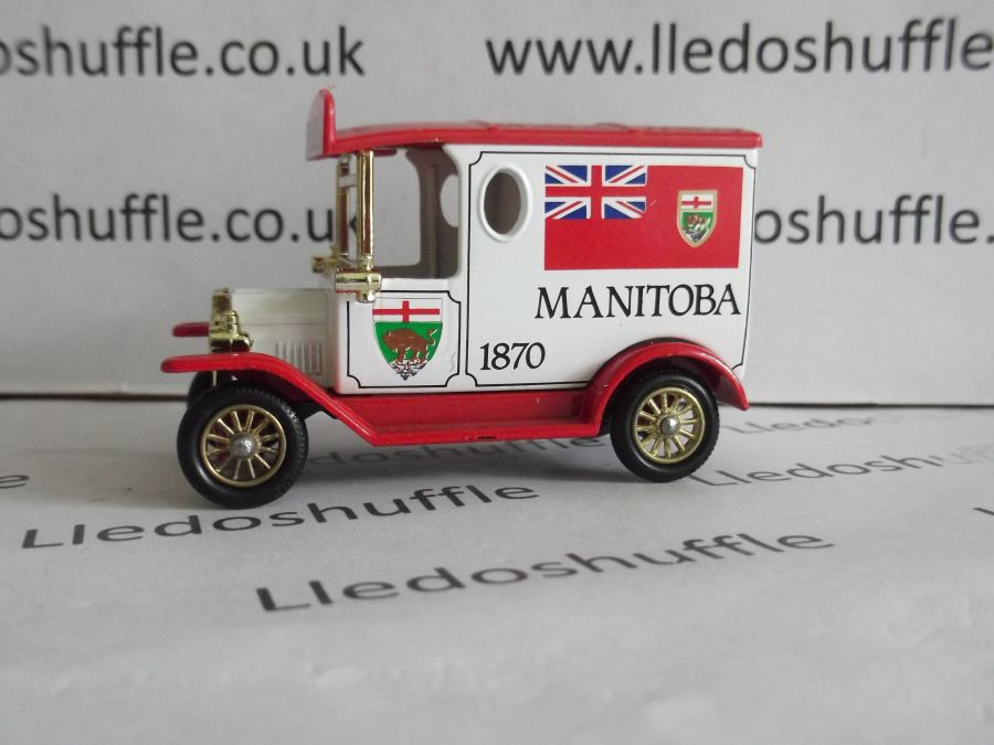 DG06081, Model T Ford Van, Manitoba 1870, AEA