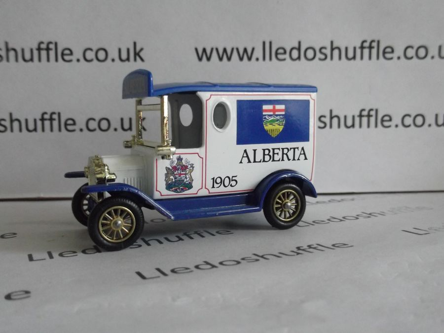 DG06082, Model T Ford Van, Alberta