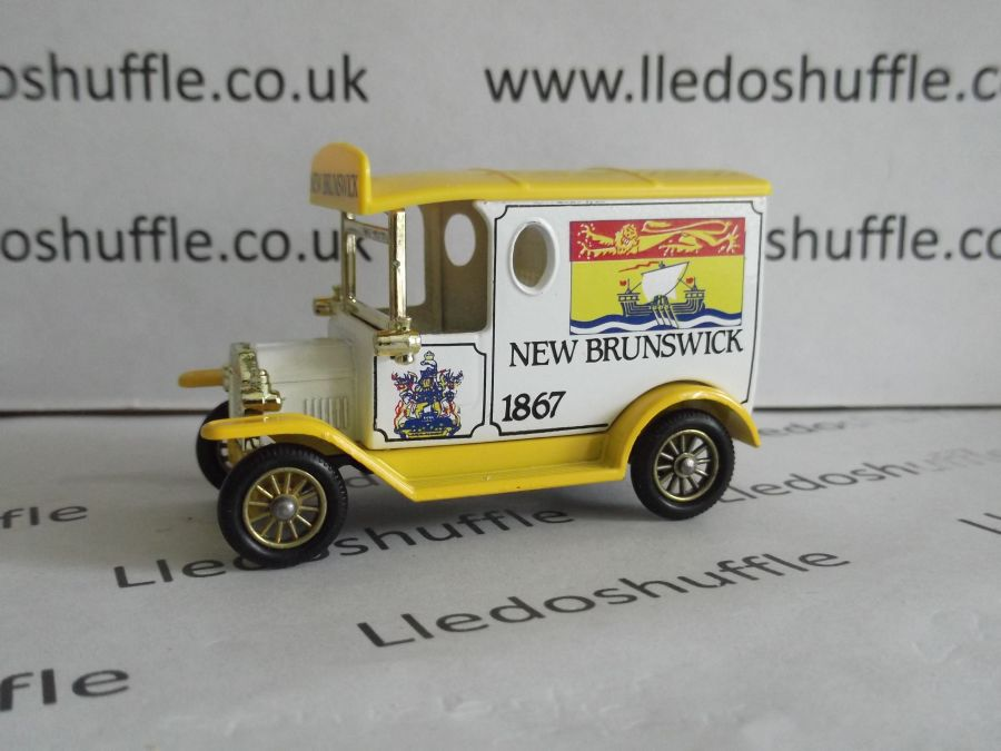 DG06083, Model T Ford Van, New Brunswick