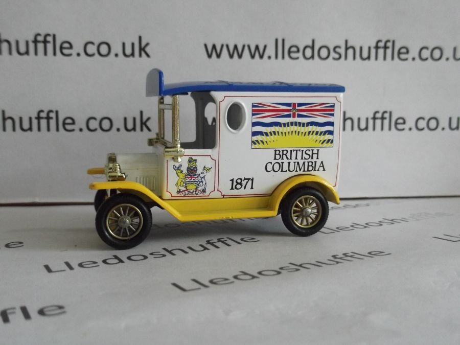 DG06084, Model T Ford Van, British Columbia