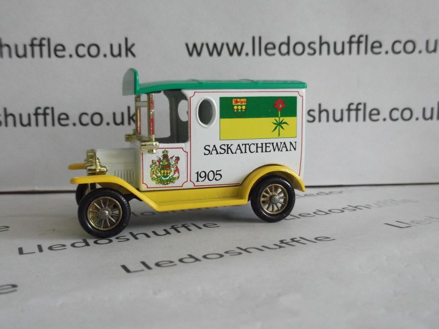 DG06085, Model T Ford Van, Saskatchewan