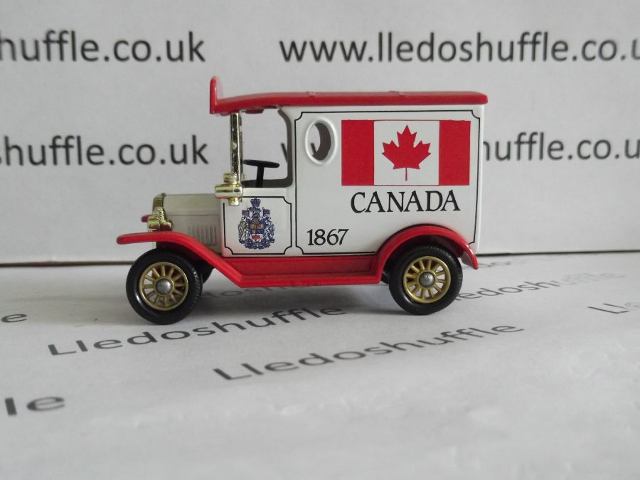DG06086, Model T Ford Van, Canada 1867, AFB with Steering Wheel