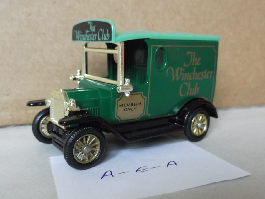 DG06090, Model T Ford Van, The Winchester Club