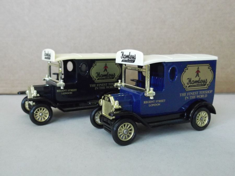 DG06094, Model T Ford Van, Hamleys