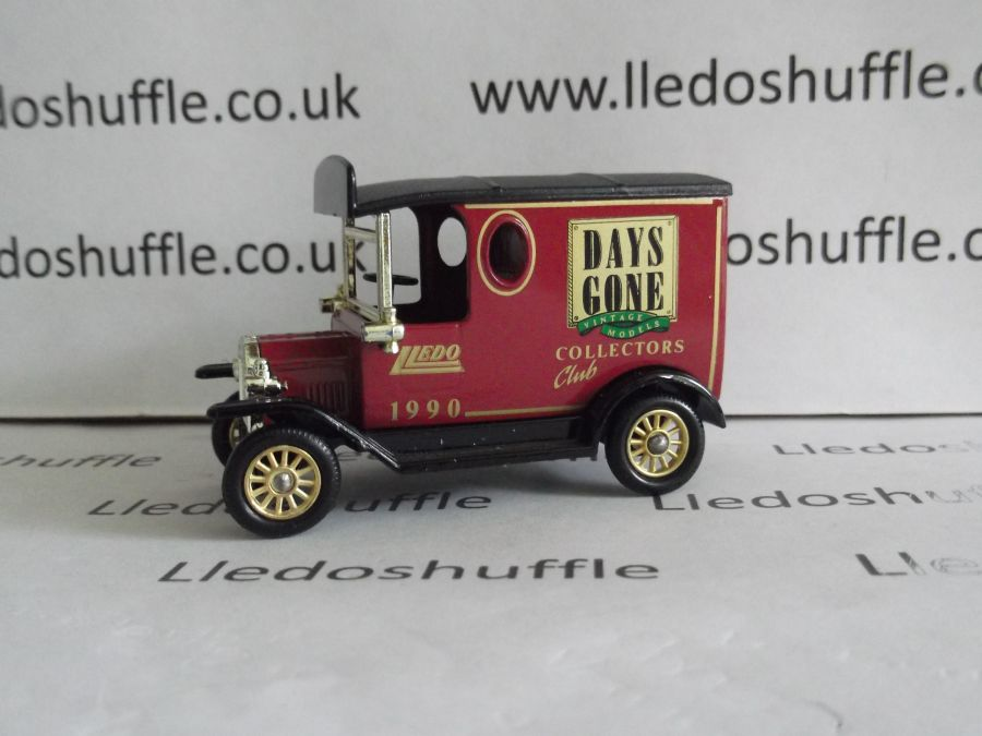 DG06100, Model T Ford Van, Club Model 1990