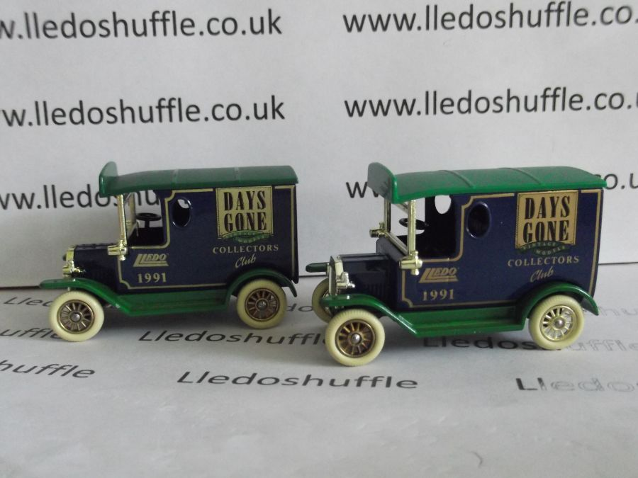 DG06102, Model T Ford Van, Club Model 1991