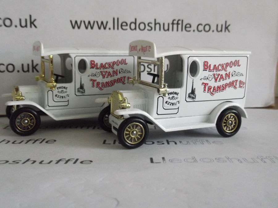 DG06104, Model T Ford Van, Blackpool Van Transport