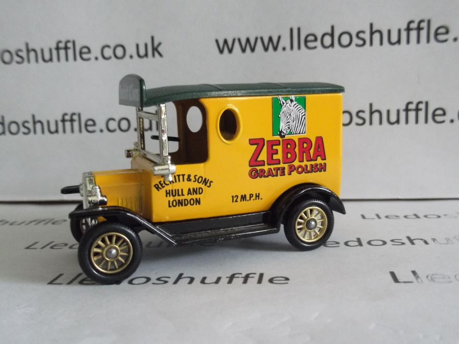 DG06105, Model T Ford Van, Zebra Grate Polish