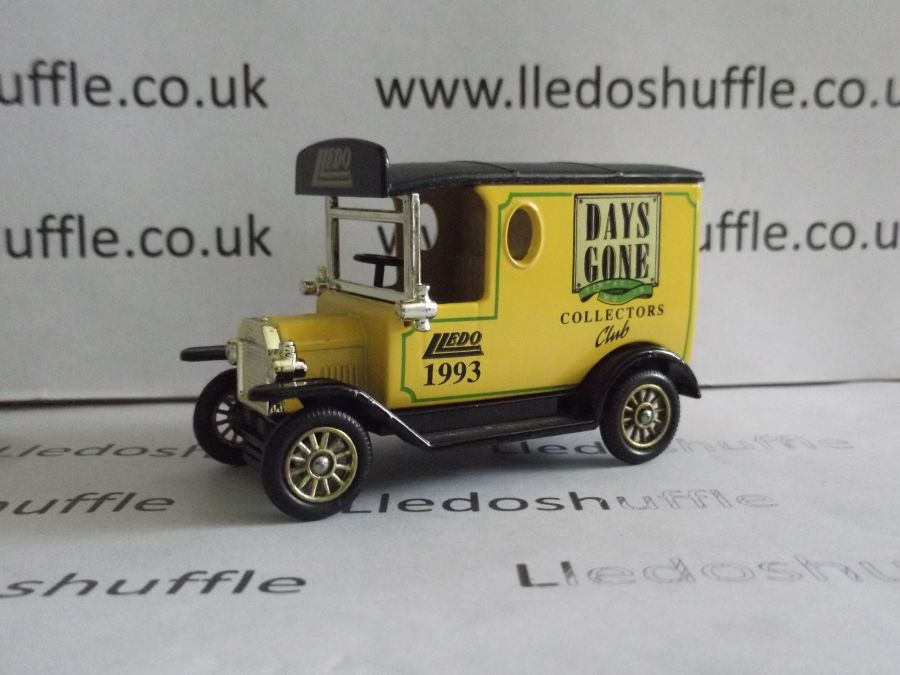 DG06114, Model T Ford Van, Club Model 1993