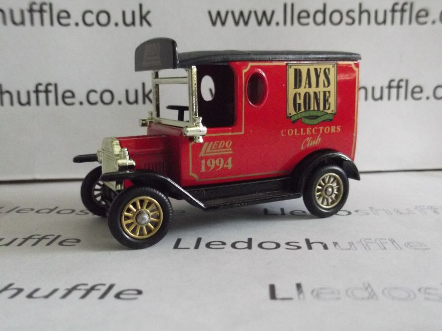 DG06115, Model T Ford Van, Club Model 1994, EFC